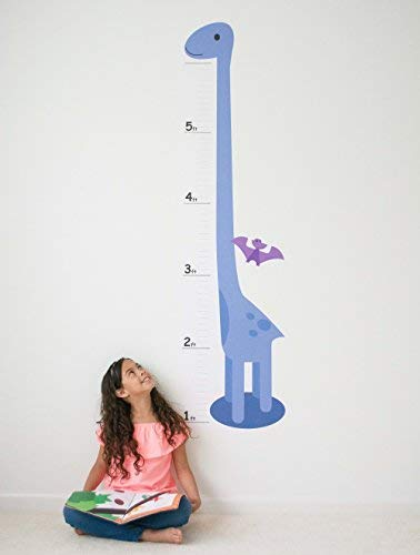 Oversize Planner by ABI Digital Solutions Dinosaur Growth Chart for Kids - Height Chart Wall Decal - Kids Height Wall Chart (Growing Chart Decal)