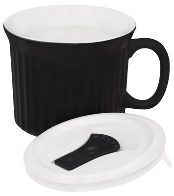 22OZ BLK Pop Ins Mug (Pack of 4) by World Kitchen (Oz Pop 22 Mug Ins)