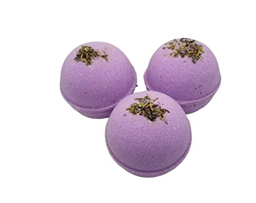- LAVENDER super foamy & fizzy large 5.8 oz bath bombs, pack of 3