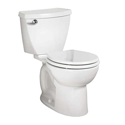 American Standard Cadet 3 Round Front Flowise Two-Piece High Efficiency Toilet with 10-Inch Rough-In, White