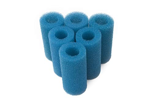 (LTWHOME Pre-Filter Sponge Roll Fit for South Ocean Five AOF10112 Aquarium Filter, 2.75 by 5.9-Inch (Pack of 6))
