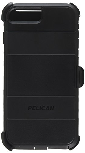 Voyager Phone Cell Cases - Pelican Voyager / Black / Protective Case w. Holster / iPhone 6s Plus and 7s Plus