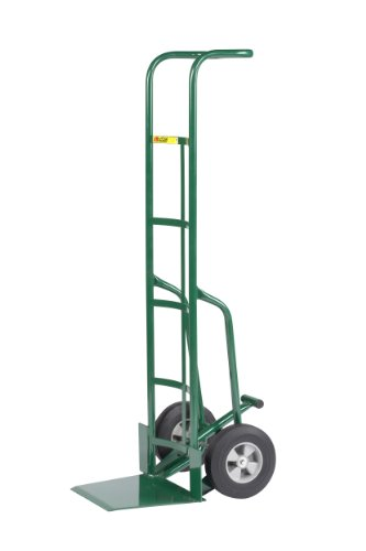 Little Giant TF-370-10 Tall Hand Truck with Foot Kick and Wheel Guards, 10