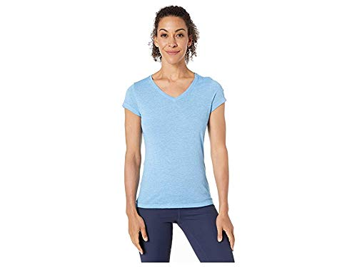 - Champion Women's Authentic Wash Tee Active Blue Large
