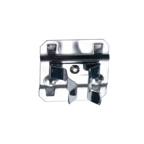 Triton Products 63120 Stainless Steel LocHook 1 In. to 2 In. Hold Range 2 In. Projection, Stainless Steel Extended Spring Clip for Stainless Steel LocBoard, 3 Pack by Triton