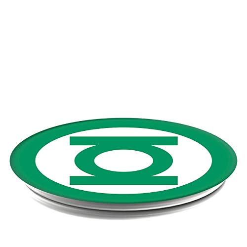Green Pop Thumb (PopSockets: Collapsible Grip & Stand for Phones and Tablets - Green Lantern Icon)