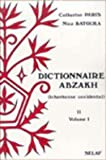 Dictionnaire Abzakh, Peters, E., 9068317423