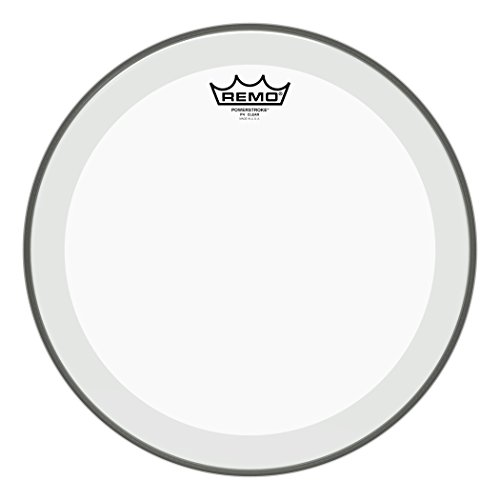 (Remo P40313-BP Clear Powerstroke 4 Drum Head (13-Inch))