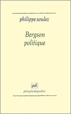 Livre gratuits Bergson politique epub, pdf