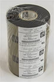 Zebra Premium 5586 Wax/Resin Ribbon- Black- 05586BK11045 (5586 Ribbons Wax Resin Premium)