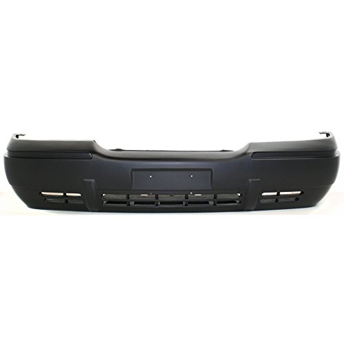 Front Bumper Cover Primed for 1998-2002 Mercury Grand Marquis
