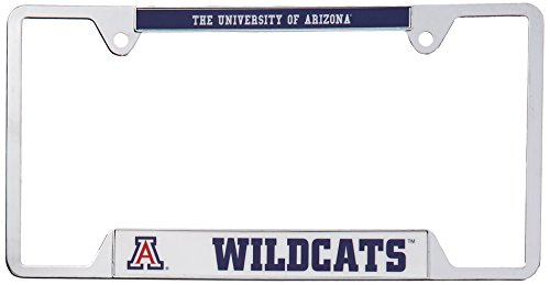 NCAA University of Arizona Metal License Plate Frame University License Plate Frame