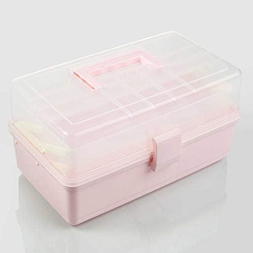 救急箱 薬箱 収納箱 ツールボックス 応急ボックス 多機能収納ケース 3層 携帯 大容量 取っ手付き 緊急 防災 薬入れ 小物入れ 34*20*17.5cm 34*20*22.5cm ブルー パープル ホワイト ピンク