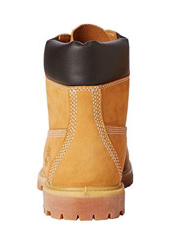 Timberland Damen 6 Zoll Premium wasserdicht Stiefel, Gelb (Wheat Nubuck), 38 EU 3