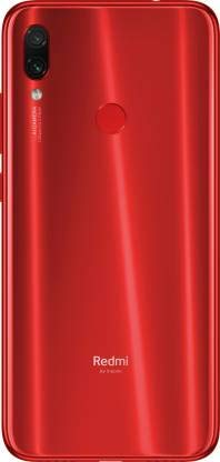 MobiSpare® 100% Orignal Back Glass Panel/Back Housing Glass/Back Door Compatible for Redmi Note 7 & Note 7s (Red)