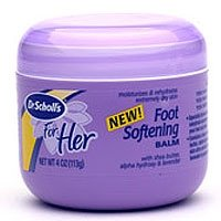 Dr. Scholl's For Her Foot Softening Balm, 4 oz