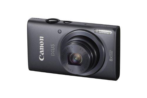 Canon IXUS 140 Digitalkamera (16 Megapixel, 8-fach opt. Zoom, 7,6 cm (3 Zoll) Display, bildstabilisiert, DIGIC 4 mit iSAPS) grau