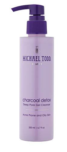 Michael Todd Charcoal Detox Deep Pore Gel Cleanser, 6.7 Fl Oz