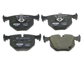 BMW e39 m5 e46 m3 e53 Brake Pad Set Rear CERAMIC Textar Epad