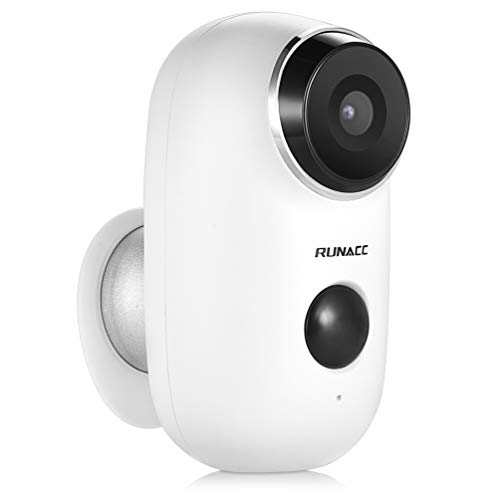 RUNACC Home Camera Wireless Security/Surveillance Camera System Home/Office/Baby/Pet Monitor with Two-Way Audio, 720P HD and Night Vision