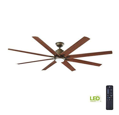 Home Decorators Collection Kensgrove 72 in. LED Indoor/Outdoor Espresso Bronze Ceiling Fan