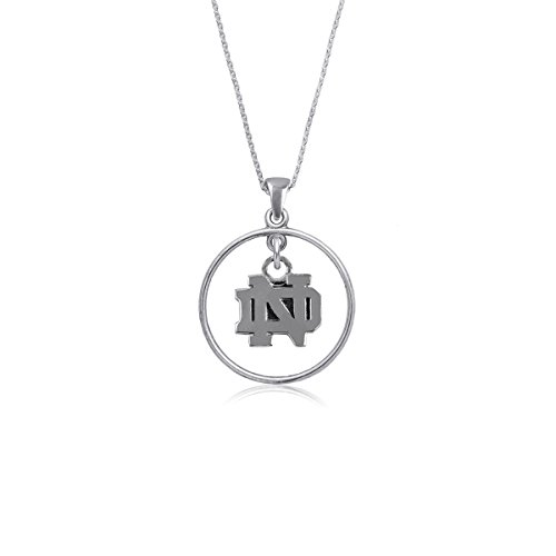 Dayna U University of Notre Dame Fighting Irish UND Sterling Silver Jewelry (Open Drop ()