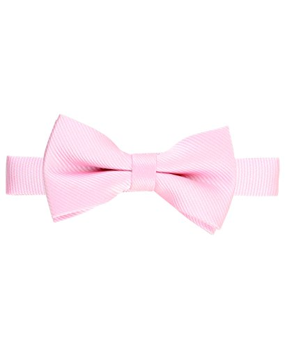 RuggedButts Baby/Toddler Boys Pink Bow Tie - -