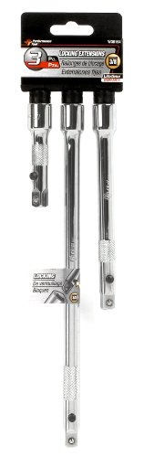 Performance Tool W38154 3-Piece 3/8-Inch Drive Linkage Extension Set, 1-Pack ()