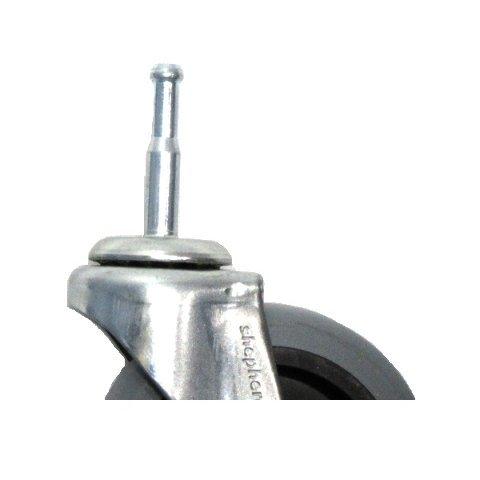 Floor Safe Swivel 3 x 7//8 Caster with 5//16 x 1-1//2 Grip Neck Stem