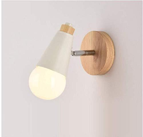 Wandlampecreative Nachtwandleuchte Einfache Treppenhaus Gang Lampen Kinderzimmer Weiß Nordic Schlafzimmer Wohnzimmer Wandleuchte