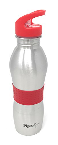 Pigeon-Playboy-Stainless-Steel-Sport-Water-Bottle-700ml-Red