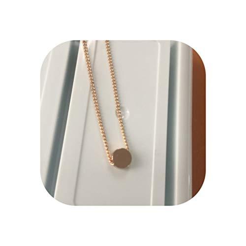 (2018 New Women Choker Gold Silver Star Heart Chain Heart Choker Necklace kolye bijoux collares Mujer Collier Femme A49,x271 Round)