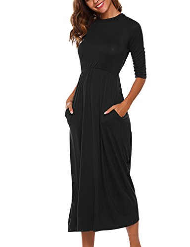 long black modest dress - 2