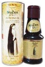 Nuzen Gold Herbal Hair Oil - 100% Pure Herbal Hair Oil , Grows New, Dense, Dark & Strong Hair, Prevents Dandruff,100% Ayurvedic and can be used both by Men & Women - 100ml (pack of 2) Hair Oil at amazon