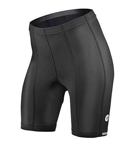 Womens Top Shelf Padded Bike Short Black XX-Large (Shorts Top Bike Shelf)