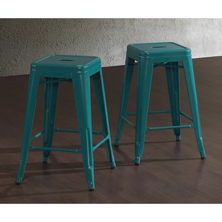 Exceptionnel Tabouret Peacock 24 Inch Counter Stools (Set Of 2).
