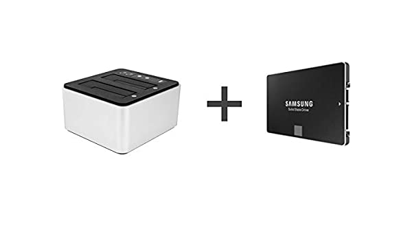 OWC Drive Dock 500 GB – Doble Dock Thunderbolt 2/USB 3.0 + SSD 860 ...