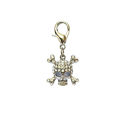 The Dog Squad Clip-On Collar Charms, Punky Pirate