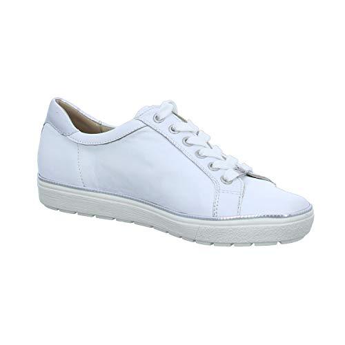 Lacets Ville De Caprice À Weiß Pour Femme Chaussures qwOFffgI