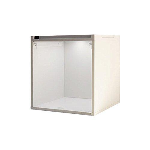 CUBE BOX α 棚なしアクリル透明扉 LEDタイプ