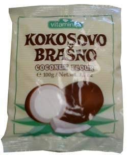 Coconut Flour - Kokosovo Brasno (Vitaminka) 100g
