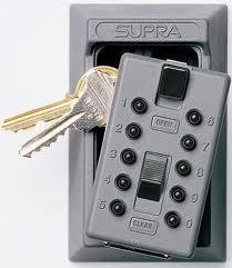 Supra 001365 Pushbutton KeySafe Permanent