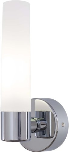 George Kovacs P5041-077-PL, Saber 1-Light Bath Fixture, Chrome (George Kovacs Bath Art)