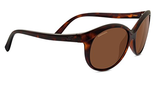 Serengeti 8188 Caterina, Shiny Dark Tortoise Frame, Polarized Drivers Lens
