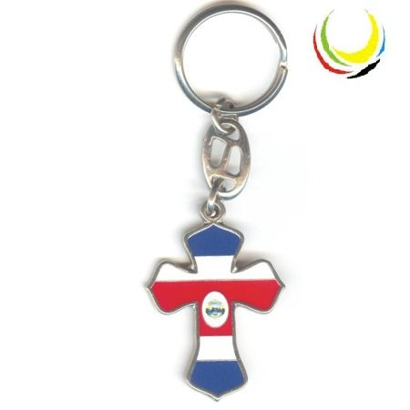 Keychain COSTA RICA CROSS