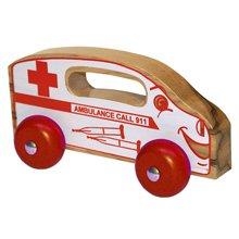 ホルゲートHHZ108 Handeez木製救急車のおもちゃ   B000U02LXO