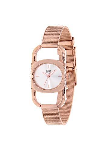 Reloj Elite Mujer Digital Rosa Gold Piel | Reloj Silver | e55264 – 804