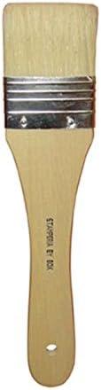 3 setola naturale Stamperia KR09 Pennello piatto n