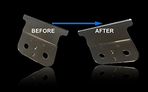 1Min Blade Modifier by The Rich Barber | 1 Minute Clipper Sharpener Tool for Andis, Wahl, Oster, BaByliss Trimmer Blades & More by The Rich Barber (Image #4)