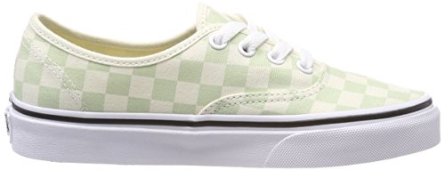 Classic Ambrosia Vans Q8j Authentic Checkerboard Green White wzFx1